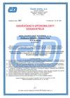 Certifikovaný dodavatel opracovaných výkovků pro součásti železničních kolejových vozidel Česke Dráhy a.s.