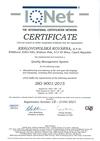 Certifikovaný systém managementu jakosti dle ISO 9001: 2015