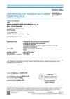 Certifikovaný systém výrobce polotovaru (výkovku) pro dodávky dle podmínek DNV-GL